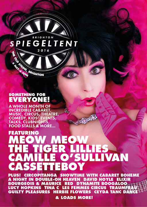 Spiegeltent & Bosco Events Guide 2016